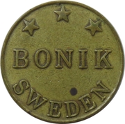 Game Token - Bonik – obverse