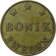 Game Token - Bonik – reverse