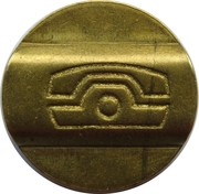 Telephone Token - St. Petersburg – reverse
