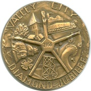So-Called Dollar - Valley City Diamond Jubilee – obverse