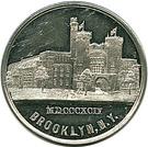 1894 13th Regiment N.G.N.Y.  Brooklyn, NY – obverse