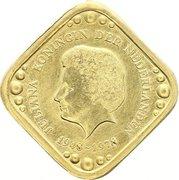 5 Cents (Queen Juliana) – obverse