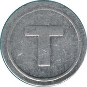Telephone Token - T (Kamenets-Podolsky) – obverse