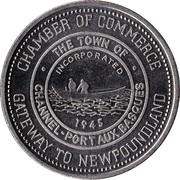 Nautical Dollar - Channel-Port aux Basques, Newfoundland & Labrador - – obverse