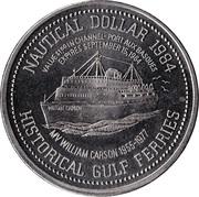 Nautical Dollar - Channel-Port aux Basques, Newfoundland & Labrador - – reverse