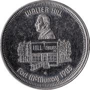 McMurray Dollar - Fort McMurray, Alberta – obverse