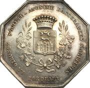 Token - La Gironde maritime insurance company (Bordeaux) – obverse