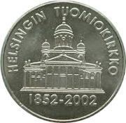 Token - 150 years Tuomio Church – obverse