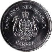 1 Dollar - Saint John, New Brunswick – obverse