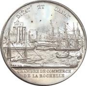 Jeton de présence - Chamber of Commerce of La Rochelle – obverse