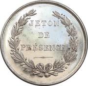 Jeton de présence - Chamber of Commerce of La Rochelle – reverse