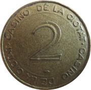 2 Francs - Casino De La Ciotat (Groupe Partouche) – obverse