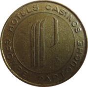 2 Francs - Casino De La Ciotat (Groupe Partouche) – reverse