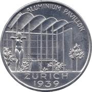 Medallion - Switzerland National Exhibition (Zurich 1939) – obverse