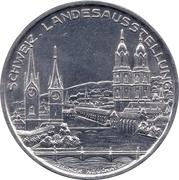 Medallion - Switzerland National Exhibition (Zurich 1939) – reverse