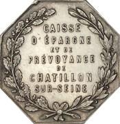 Jetons-Caisse d'épargne-Châtillon sur Seine – reverse