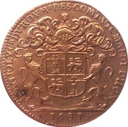 Burgundy Mayor of Dijon - Jean Joly – obverse