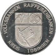 Token - Reiffeisenbanken Kreis Tübingen – obverse