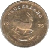 Token - Kruger Rand commemorative – reverse
