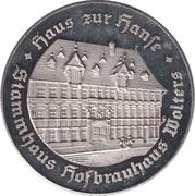 Token - 350 Jahre Hofbrauhaus Wolters – reverse