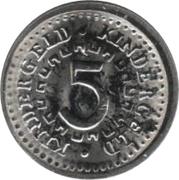 5 Mark (Kindergeld) – obverse