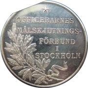 Token - Gustaf V (Shooting Association) – reverse