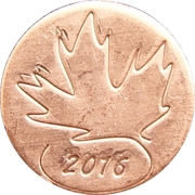 Royal Canadian Mint Token - Canada Day 2016 – obverse