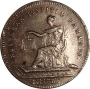 Token - Louis XV (Procureurs de la cour) – reverse