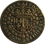Token - Louis XIII (Le Juste Cu 27) – reverse
