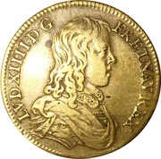 Token - Louis XIV (Council of the King) – obverse