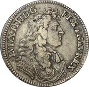 Jeton Louis XIV Jeton Victoire de Seneffe – obverse