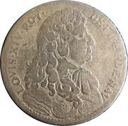LOUIS XIV ROY DE.FR. ET. DE. NAV – obverse