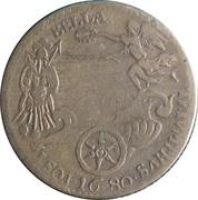 LOUIS XIV ROY DE.FR. ET. DE. NAV – reverse