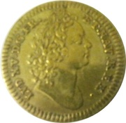 Token - Louis XV and Philippe D'Orléans – obverse