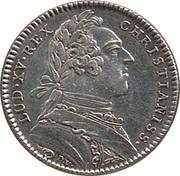 Louis XV ville d'Angers – obverse
