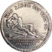 Louis XV - Extraordinaire des guerres - 1722 – reverse