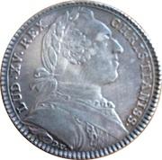 Louis XV Ordinaire des Guerres – obverse