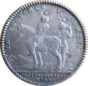 Louis XV Ordinaire des Guerres – reverse