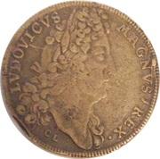 Jeton royale Louis XIV (Bâtiments du Roi) – obverse