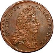 Louis XIV - Prise de Condé - sur - l'Escaut – obverse