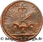Louis XIV - Prise de Condé - sur - l'Escaut – reverse