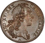 Jeton Louis XV chambre aux deniers – obverse