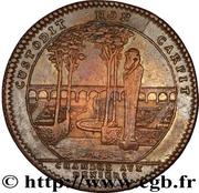 Jeton Louis XV chambre aux deniers – reverse