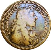 Token - Louis XIV (Felicitas Publica) – obverse