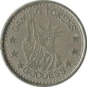 Gaming Tokens - Goddess – obverse