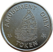 Token - Tai tin Amusement (glossy) – reverse