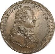 New year's token - Prince Charles Alexander of Lorraine – obverse