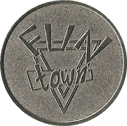 Amusement Token - Fun Town – reverse