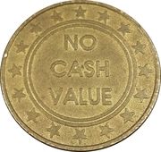 Token - No Cash Value – reverse