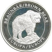 Token - Endangered Wildlife (Brown Bear) – obverse